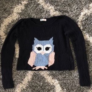 an h&m owl sweater.